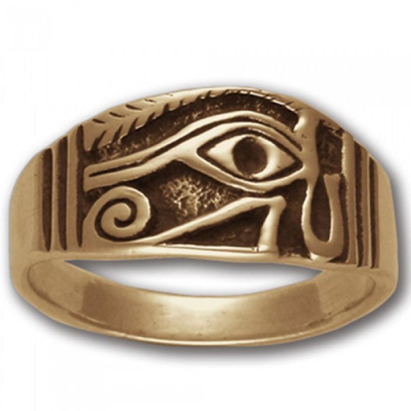 Ancient Egyptian Rings Horus Eye
