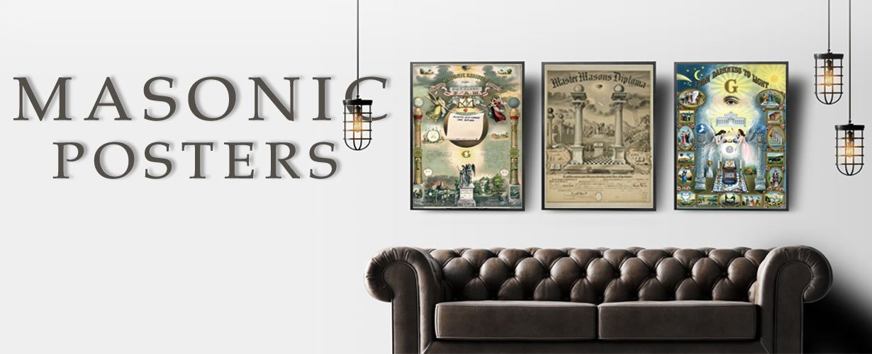 Masonic Posters and Wall Art Decorations