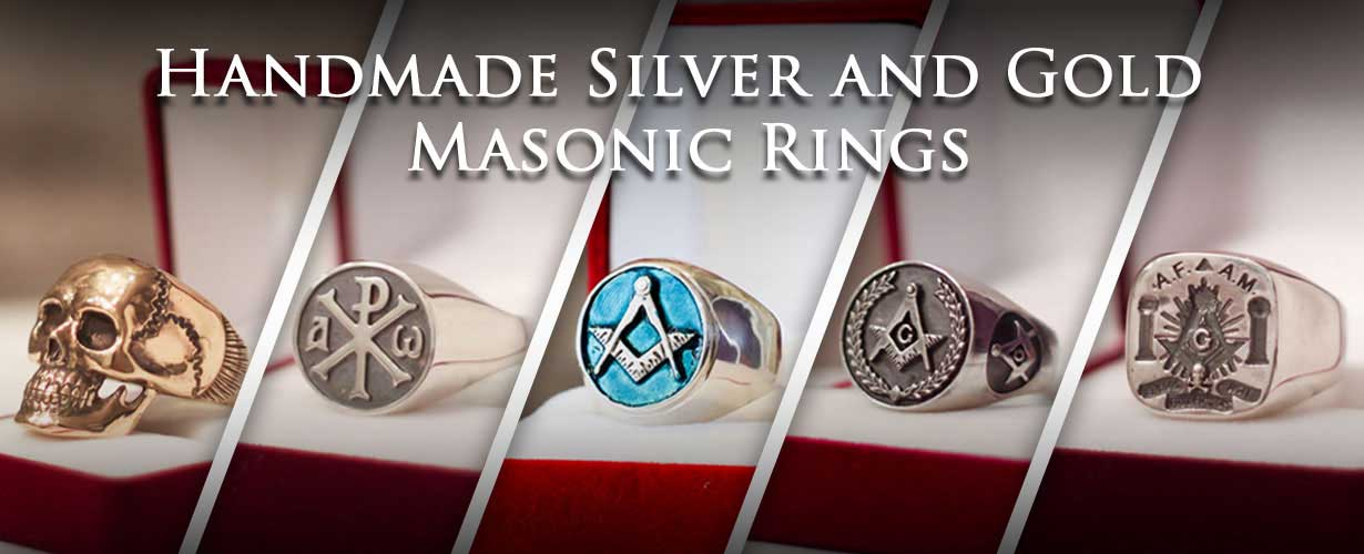 Handmade Custom Masonic Rings