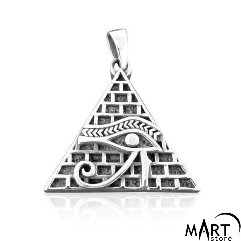 item pc jewellery metal bee accessories cross evil of pyramid link chain delicate men charms pendant collier pendants horus necklace rhinestones eye lovely women jewelry egyptian