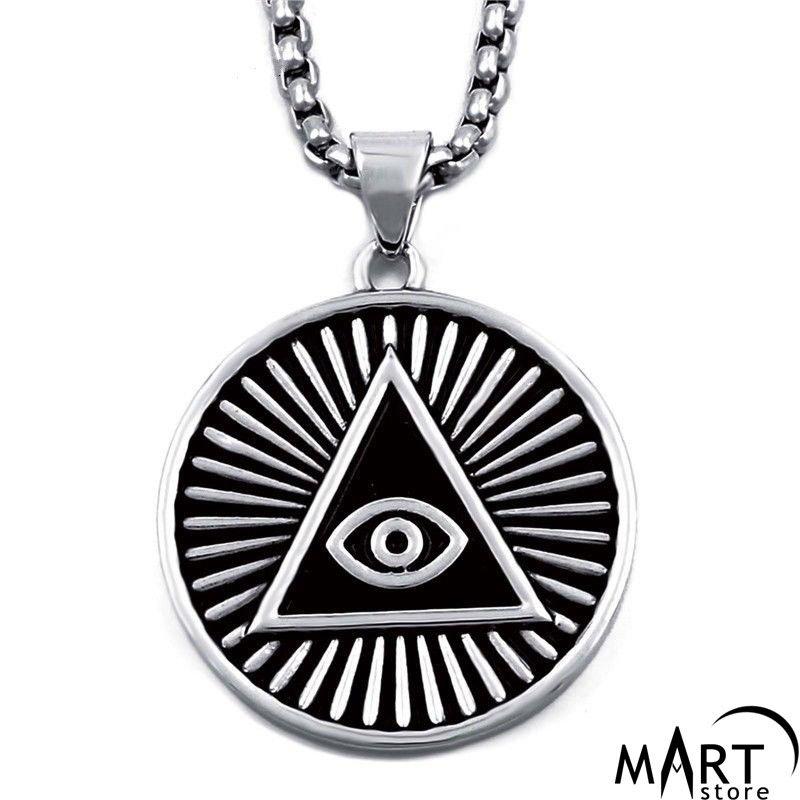 Illuminati pyramid pendant all seeing eye pendant silver and illuminati pyramid pendant all seeing eye pendant silver and gold mozeypictures Images