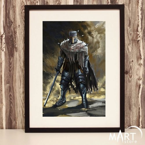 Crusader Poster, Freemason Wall Art Decoration - Immortal Faith