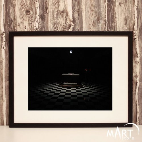 Masonic Poster, Freemason Wall Art Decoration - Domino