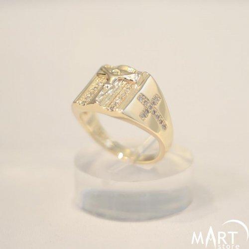 Christian Ring - Jesus Christ Cross Ring, Religious Ring