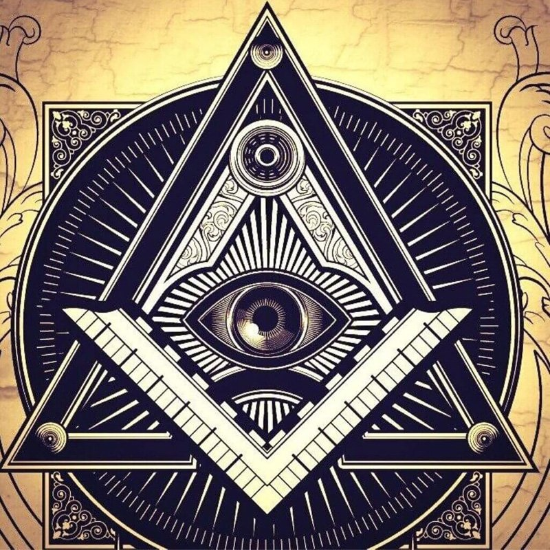 Square and Compasses - All-Seeing eye, Eye of Providence, MasonArtStore
